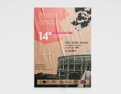 Abertura da 14ª Bienal de Curitiba I Só o Soul Salva