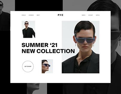 P.Y.E optics — redesign concept