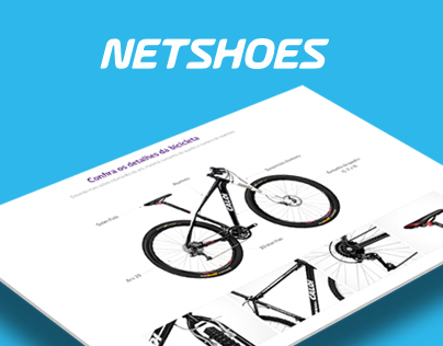 Detalhes da Bike - Netshoes