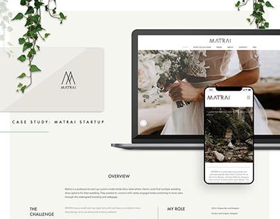 MATRAI Website Design UX Ui Project