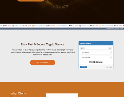 Crypto Cafe