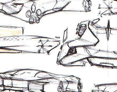 Thumbnail Sketches WIP