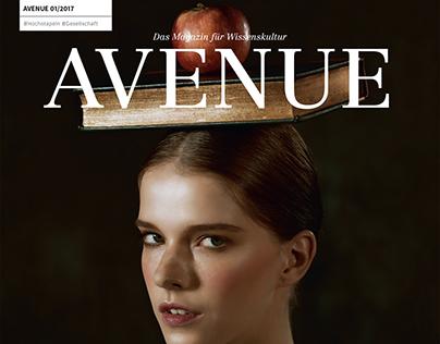 Portrait of the past (Avenue magazine)