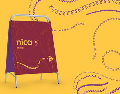 Nica Cachos Identidade Visual