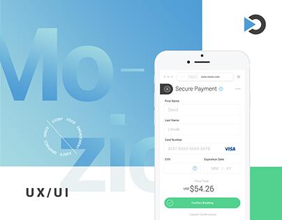 Mozio, Inc. - UX/UI Design