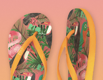 Marcelle Lucena para Rio Sandals
