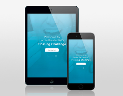 Flossing Challenge - App Design