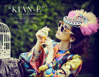 Collaboration with Kian-E designs for Asiana Magazine