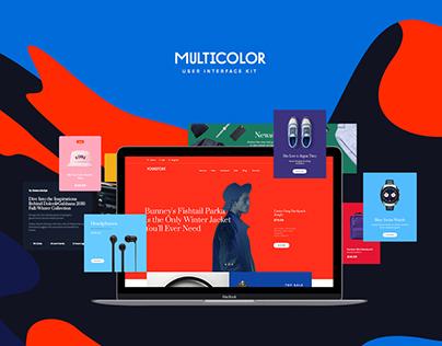 Multicolor UI Kit