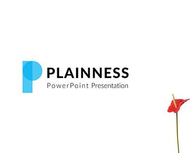 Plainness Powerpoint Presentation Template
