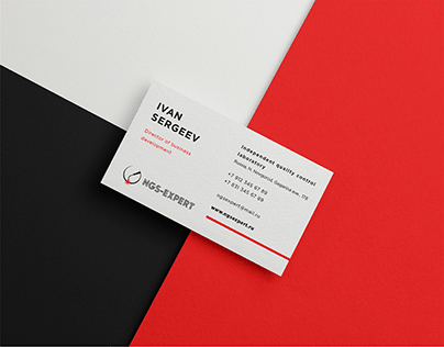 Business card for NGS-Expert