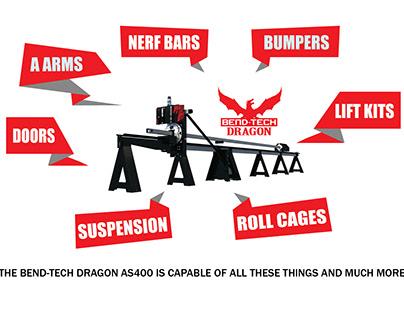 Bend Tech Dragon Ads