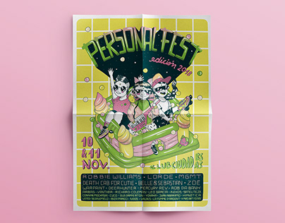 Póster Personal Fest 2018