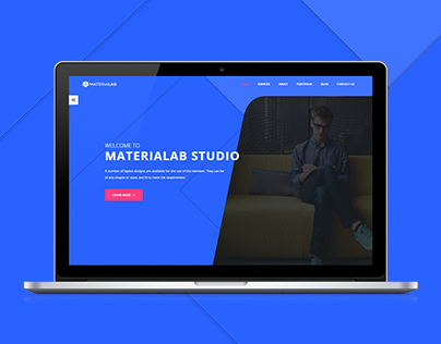 Materialab- Agency Website