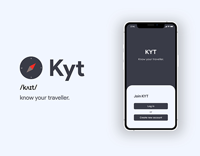 Kyt - Know your traveller.
