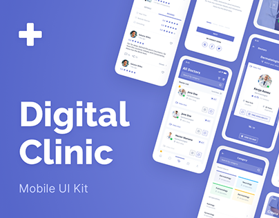 Digital Clinic UI Kit