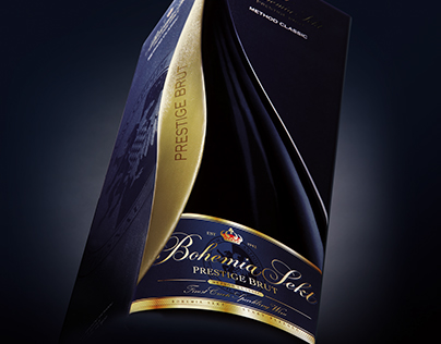 Bohemia Sekt Prestige gift box.