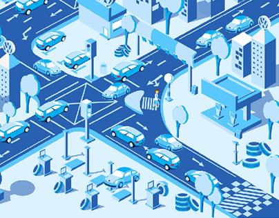 Traffic City illustration