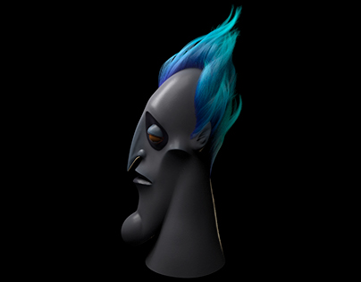 Disney's Hades - 3D fan art