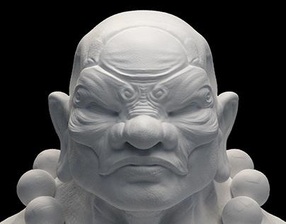 monk (3dp)