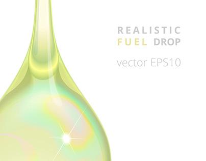 Vector fuel droplet