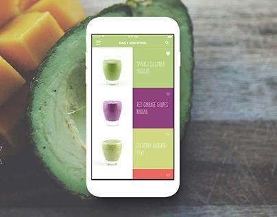 DailySmoothie - App Design & Development