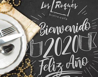 Diseño para rrss de Los Roques Bistro Café