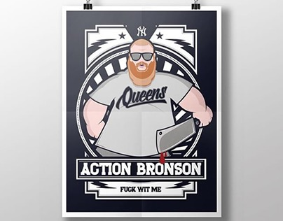 Action Bronson Poster Print