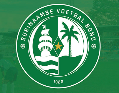 Surinaamse Voetbal Bond (SVB) Logo Rebrand + Soccer Kit