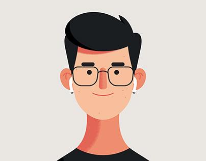 My Selfie Character (head animation)