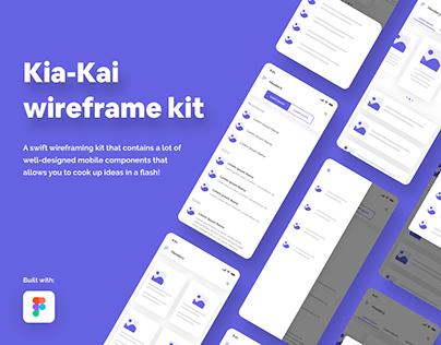 Kia Kia (wireframing tool)