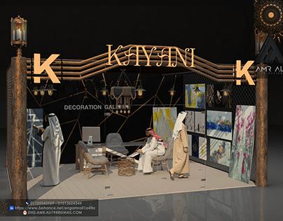 EXHIBITION DESIGNS -kayani store 360 3D