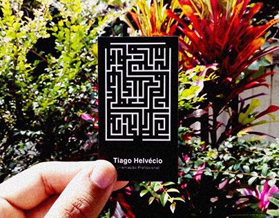 Tiago Helvécio: Orientação Profissional (Business Card)