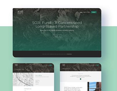 Landing Page: SOJE Fund