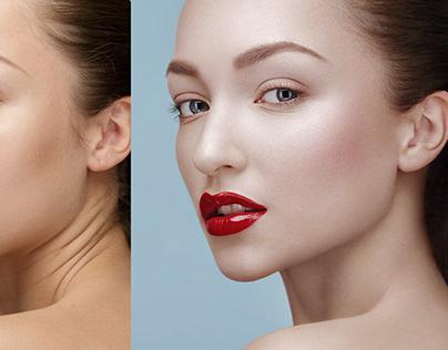 Deep beauty retouch