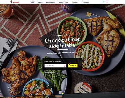 Nando's New Salads and Sides