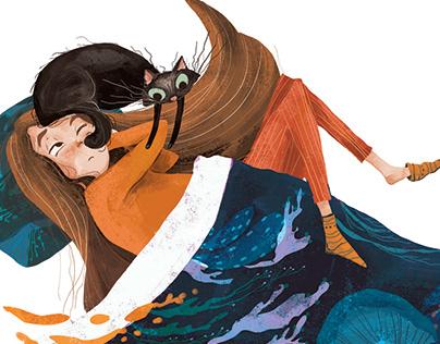 Children's book // Paspas Tepemde Kapiş Paçamda