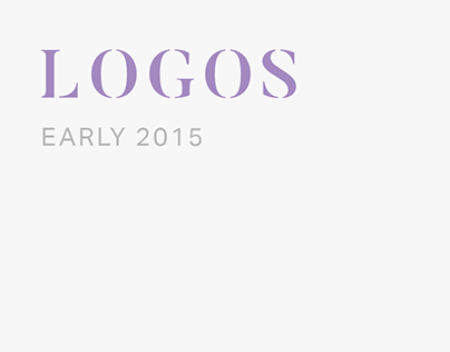 Logos Early 2015