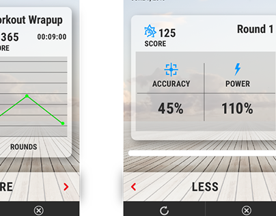 Cross Body Trainer - Workout Wrapup - Mobile Game