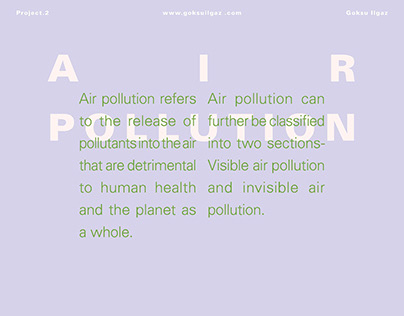 Presentation Design - Air Pollution