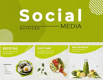 Social Media - Nutrição