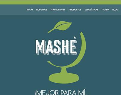 Landing Page Esfera Mashe