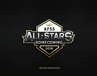 Branding for AFSS ALL-STARS HOMECOMING