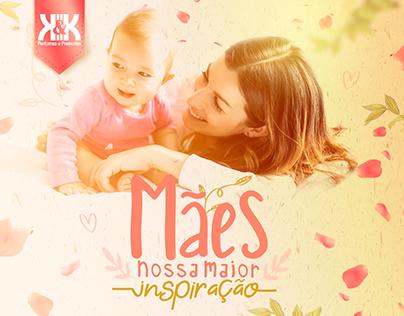 Dia das Mães - K&K Perfumes e Presentes