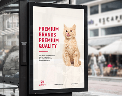 Visual Identity for Pet Love