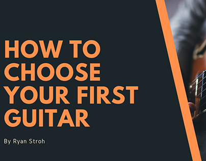 How to Choose Your First Guitar