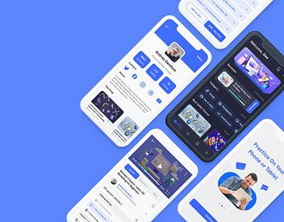 UX/UI Case Study - Espace App