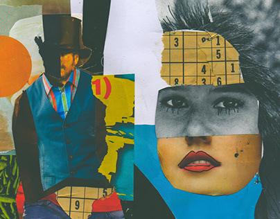 Powerful Couple // Analog Collage