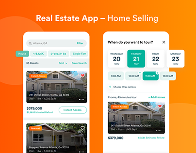 Real Estate App-Home Selling