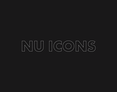 NU ICONS: Web Redesign